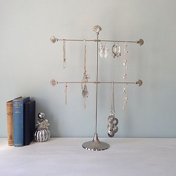 Shell Jewellery Stand Or Earring Stand