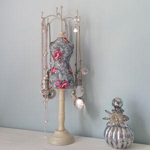 Bodice Jewellery Mannequin - jewellery storage & trinket boxes