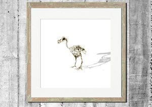 Lonely Dinosaur Print - contemporary art