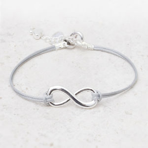 Luana Personalised Eternity Bracelet - charm jewellery