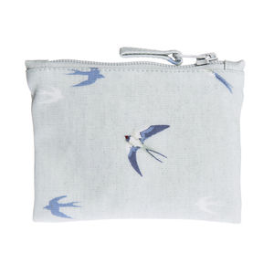 Swallow Oilcloth Purse - women's accessories