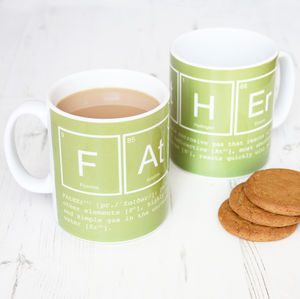 Elements Of A Father Mug