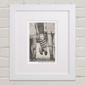 Bespoke Child's Portrait - nursery pictures & prints