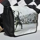 Finish Line Messenger Bag