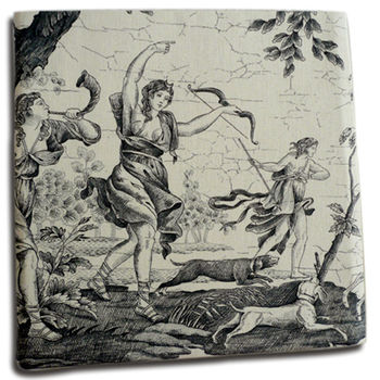 Toile de Jouy Fabric Photo Album