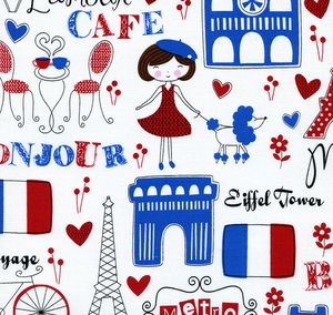Paris Cotton print Photo Album