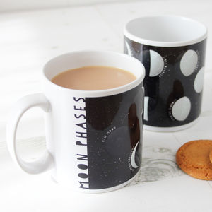 Moon Phases Educational Mug - out of this world