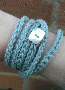 Handmade Wraparound Cotton Bracelet