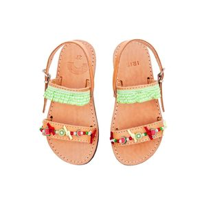 Fruity Breeze Girl's Handmade Sandals - clothing