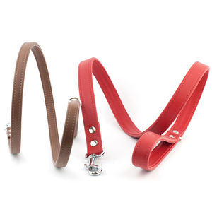 Handmade Leather Dog Lead - clothes