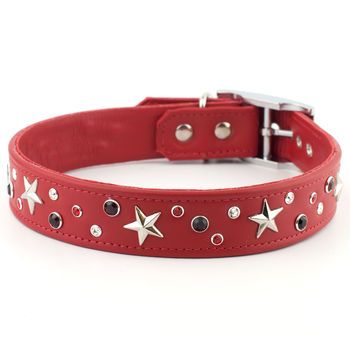 Starstruck Dog Collar With Swarovski Crystal