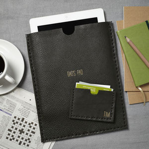 Huxley Personalised iPad And Card Holder Set - gifts from adult children