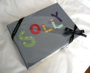 Personalised Felt Covered Photo Album