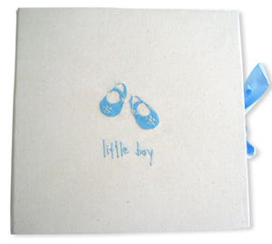Little Boy/Girl Embroidered Photo Album - photo albums