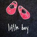 Little Girl/Little Boy Denim Photo Album