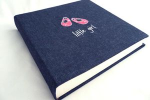 Little Girl/Little Boy Denim Photo Album - keepsakes
