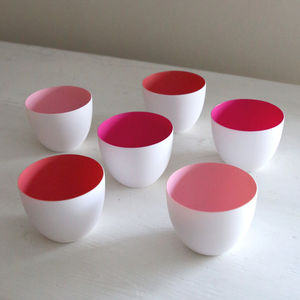 Tickled Pink Tealight Set Of Three - styling your day sale