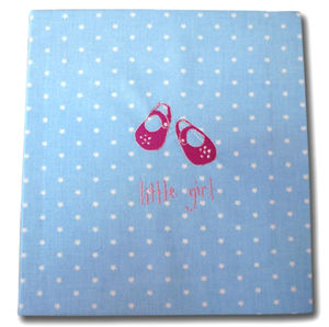 Hand Made Blue Star Photo Album PERSONALISED - personalised
