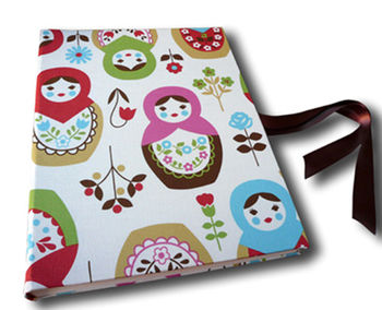 Large Print Russian Doll Photo Album