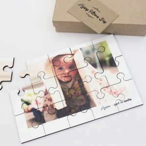 Personalised Photo Jigsaw Puzzle - father's day gifts