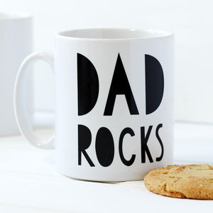 Father's Day Dad Rocks Mug