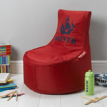 Personalised Bean Bag - Red