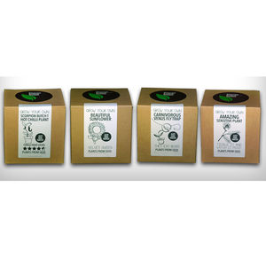 Your Choice Of Four Grown You Own Plant Kits