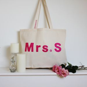 Mrs Bag, As Seen On Fearne Cotton - best wedding gifts