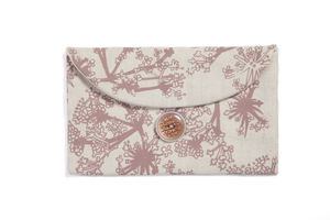Floral Print Purse - make-up bags