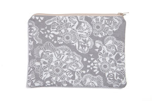 Crochet Lace Print Bag