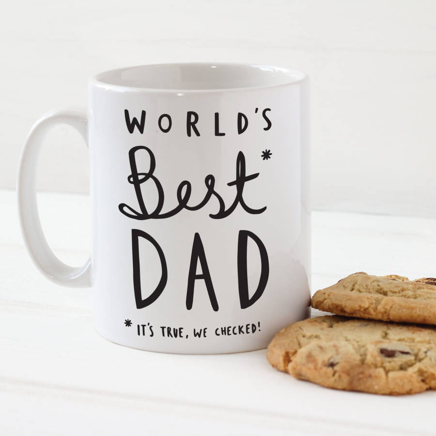 father s day world s best dad mug by old english company