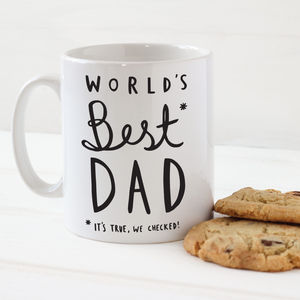 Father's Day World's Best Dad Mug