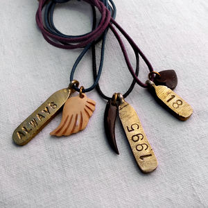Personalised Tag Necklace - men's jewellery