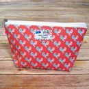 Lovebirds Pair Cosmetic Toiletry Wash Bag