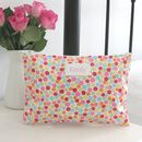 Personalised Oilcloth Cosmetic Bag