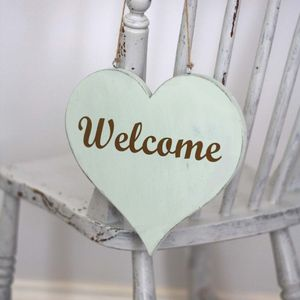 Heart Shaped Welcome Sign - view all sale items