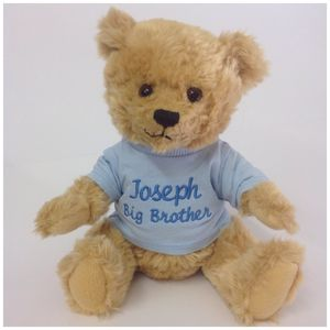 Personalised Brother Or Sister Teddy Bear