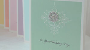 Venice Personalised Wedding Card