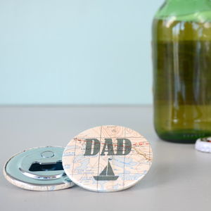 'Dad' Magnetic Bottle Opener - kitchen accessories