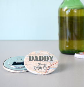 'Daddy' Magnetic Bottle Opener - kitchen accessories