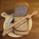 Fiddle Bow Bread Knife