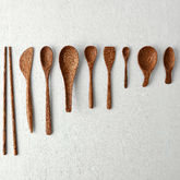 Natural Coconut Wood Cutlery - trends