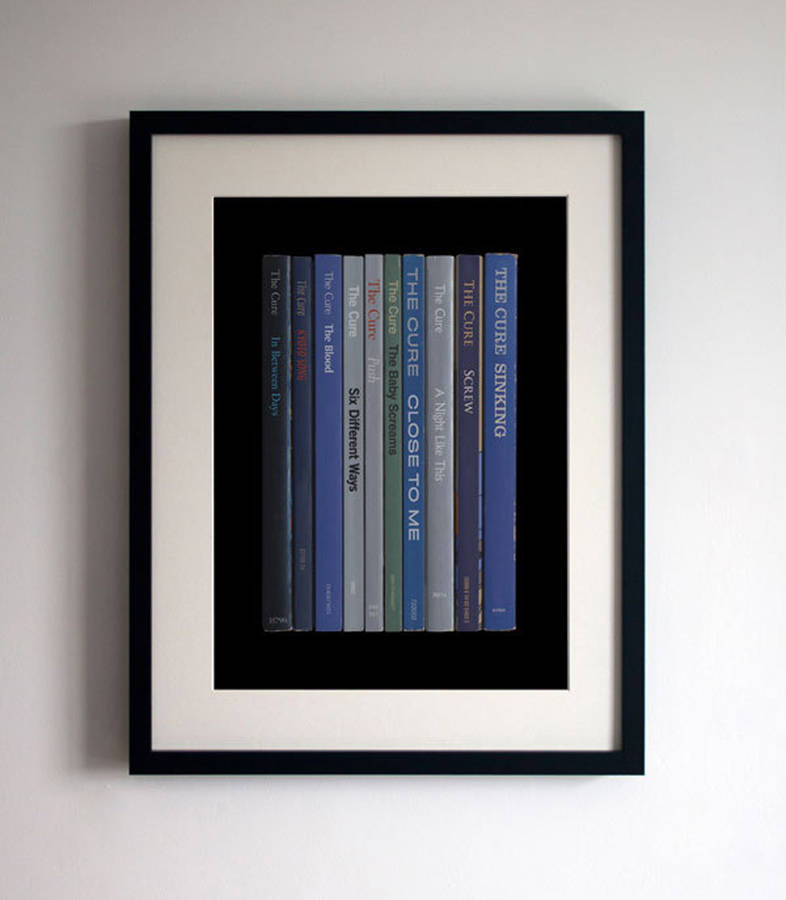 The Cure Album In Book Form Print