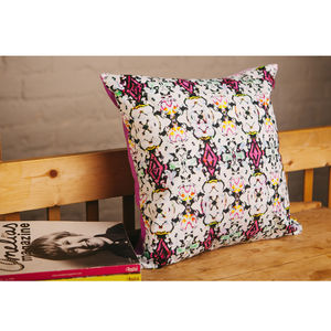 Handmade Run Run As Fast As You Can Cushion - cushions
