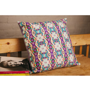 Handmade Chain Reaction Cushion - cushions