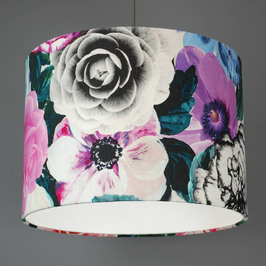 Designers guild pandora fabric lampshade by quirk designers guild pandora fabric lampshade aloadofball Choice Image