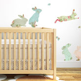 Fabric Rabbit Wall Stickers - easter