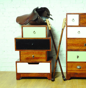 Mismatched Four Set Of Vintage Drawers - bedroom