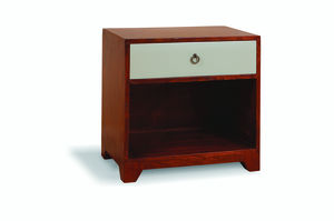 Vintage Bedside Side Table - furniture