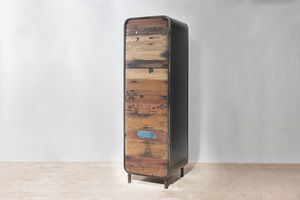 Boatwood Tall Vintage Cabinet - furniture